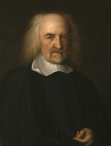 NPG 225; Thomas Hobbes by John Michael Wright